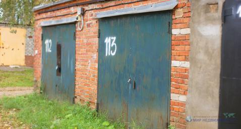 Капитальный кирпичный гараж в городе Волоколамске на ул. Колхозная - Фото 2