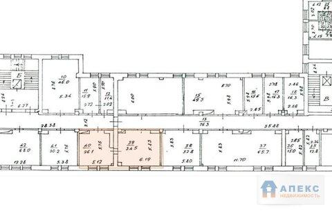 Аренда офиса пл. 68 м2 м. Марксистская в бизнес-центре класса С в . - Фото 3
