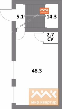 Продажа офиса, м. Комендантский проспект, Комендантский пр. 51 - Фото 2