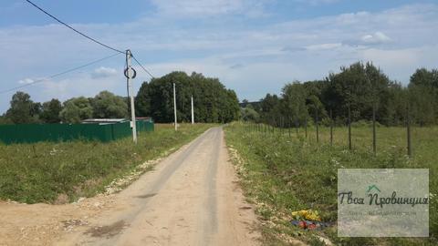Участок 12 соток на тупиковой ул. в селе Ивановское Ступинского Района - Фото 1