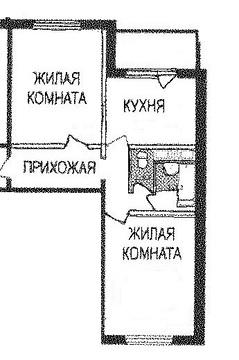 2 к.кв. г. Подольск, ул. Академическая, д.8
