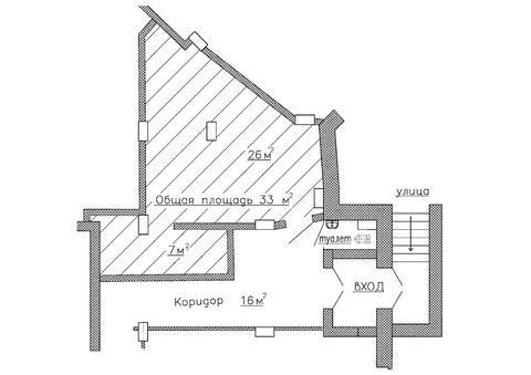Сдам помещение в цокольном этаже, общей площадью 33 м2. - Фото 1