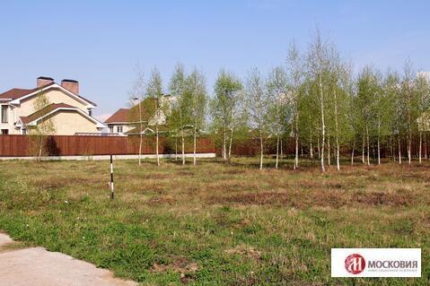 Участок 12,4 сотки в охраняемом поселке у леса, 27 км по Калужскому ш. - Фото 1