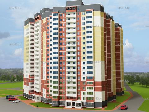Продажа 1-комнатной квартиры, 39.5 м2, Архитектора Валерия Зянкина, д. . - Фото 2