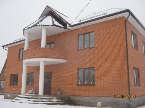 Кирпичный коттедж в Першино, водоём, 55 км Новорязанкое ш - Фото 1