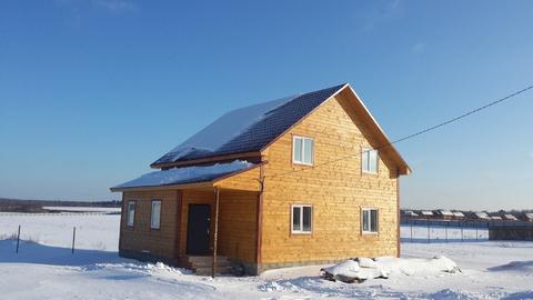 Продается деревянный дом в Лизуново под ключ 85 км от МКАД - Фото 1