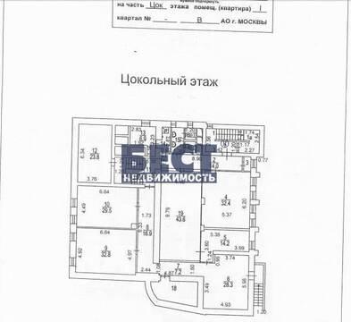 Аренда офиса в Москве, Преображенская площадь, 1218 кв.м, класс B+. . - Фото 5