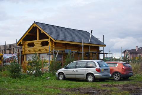 Продаётся участок ИЖС 30 соток с домом и коммуникациями в д.Санино - Фото 4
