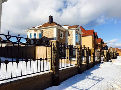 Кирпичный дом с 240 кв.м. участок 9 сот. Калужское шоссе - Фото 4