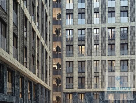 Апартаменты площадью 66,4 кв.м, без отделки в ЖК «Сады Пекина» - Фото 1