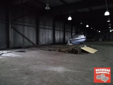 На охраняемой территории сдается ангар 1800 кв.метров - Фото 2