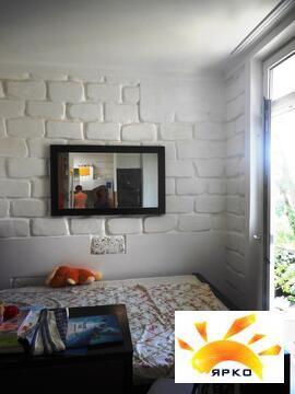 Студия 35м, с большой верандой, до моря 10мин, евроремонт, мебель, тех - Фото 2