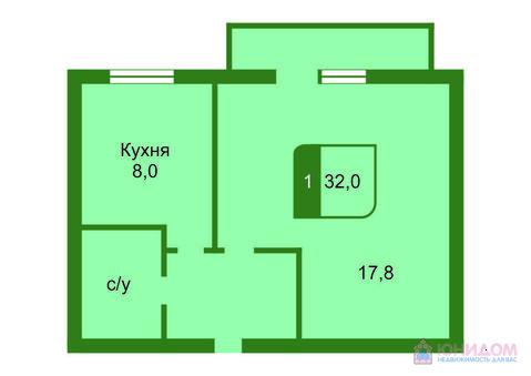 1 комнатная квартира, ул. Амурская, Московский тракт - Фото 2