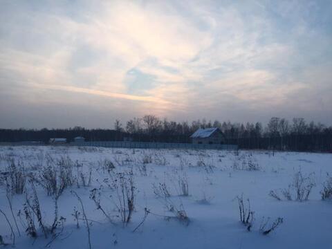 Участок 25 соток, с. Шарапово Чеховский р-н, 55 км от МКАД - Фото 5