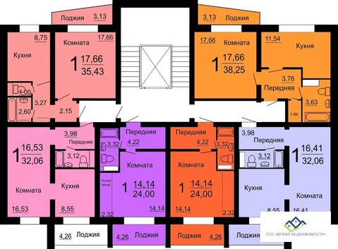 Продам квартиру в Славино, Новоказанцево, д67,32 кв.м, цена 920т.р. - Фото 2