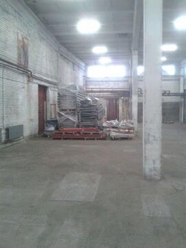 Аренда склада с пандусом 870 кв.м. Без комиссии - Фото 1