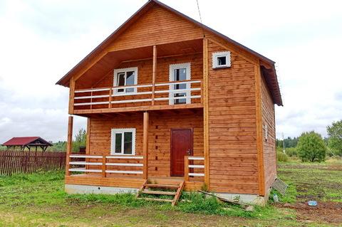 Продается новый дом в деревне, жилая улица, рядом река, лес, родник. - Фото 3
