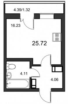 Продается ваша Мечта - студия в новом доме, по переуступке. - Фото 5