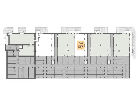 Офис в аренду 81 м2, кв. м/год - Фото 2