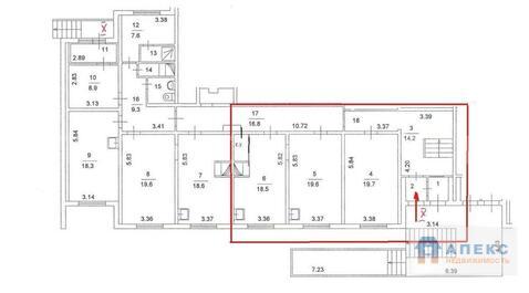Аренда помещения свободного назначения (псн) пл. 90 м2 под медцентр, . - Фото 3