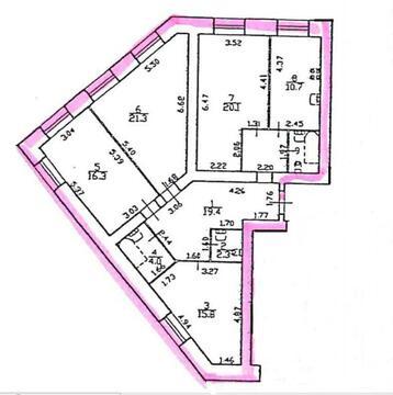 Четырехкомнатная квартира в новом доме на Учительской улице - Фото 2