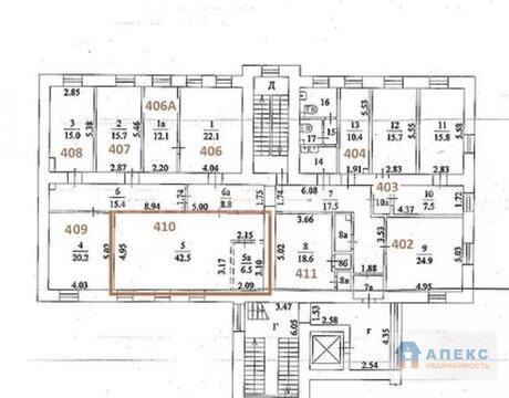 Аренда офиса 49 м2 м. Краснопресненская в бизнес-центре класса В в . - Фото 3
