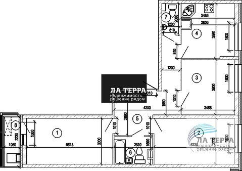 """Продажа 3-х комнатной квартиры в ЖК """"Изумрудные холмы"""" - Фото 1"""