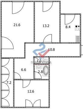 3-х комнатная квартира по адресу мушникова 13/5 - Фото 5
