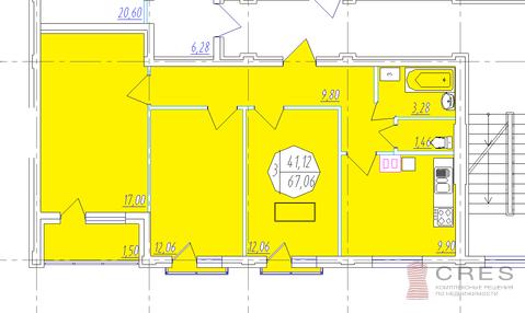 Трех комнатная квартира в Новомаксимовке - Фото 1