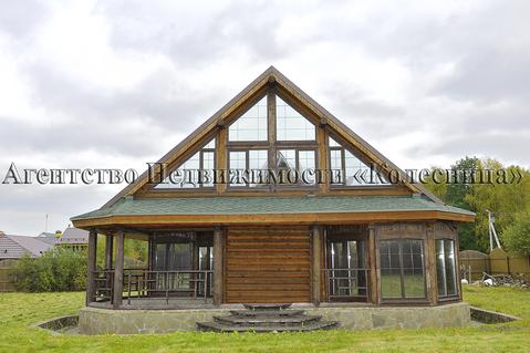 Солнечная Горка. Новый коттедж 240 кв.м. из бревна лиственницы и кедра - Фото 3