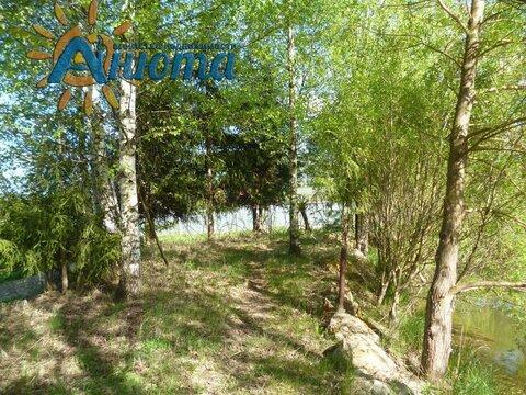 Участок с прудом в деревне Жуковского района Грачевка. - Фото 3