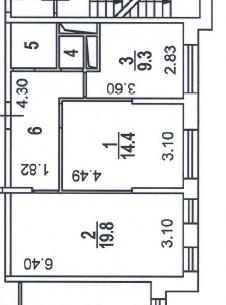 Продажа 2х комнатной квартиры в ЖК Пресненский Вал 14 - Фото 2