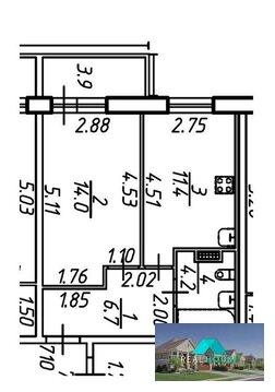 Продается 1 комнатная квартира в новом жилом комплексе - Фото 4
