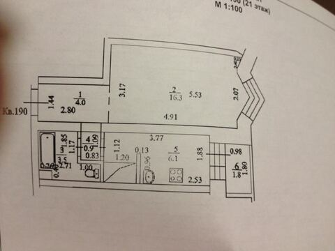 Продам: 1-комн. квартира, 35 кв. м, Уфа, Купить квартиру в Уфе по недорогой цене, ID объекта - 317740441 - Фото 1