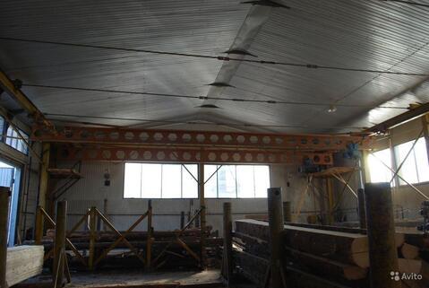 Утепленное производственное помещение 1000 кв.м. 2 кран-балки, 400ква - Фото 3