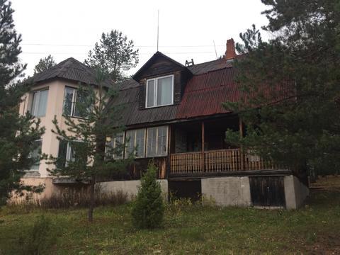Продается участок с баней 226,6кв.м. на 1-линии р. Волга д. Бурцево - Фото 1