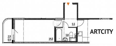 Продажа 1-комнатной квартиры, 35.5 м2, ул. Шоссейная, к. корпус 1 - Фото 1