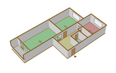 Продам 2-комн. квартиру 58.2 кв.м - Фото 2