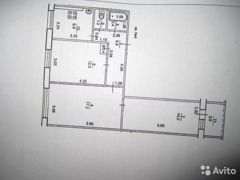 Прoдается квартира 3-хкомнатная, yл. Бехтерева, д.16/2 - Фото 3