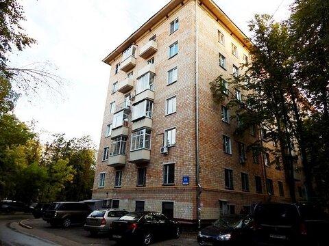 Двухкомнатная квартира 63 кв.м, Ленинский проспект, м.Университет - Фото 1