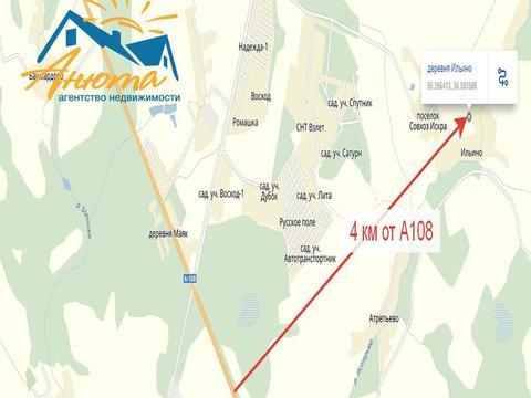 Участок 3,25 га в 4 км от а108 деревне Ильино Калужской области - Фото 2