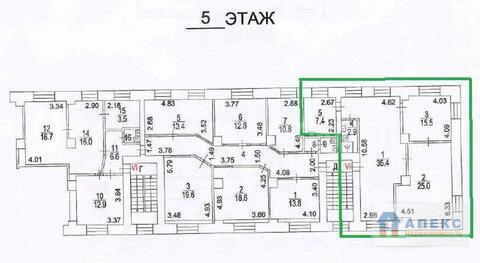 Аренда офиса пл. 86 м2 м. Савеловская в административном здании в . - Фото 5
