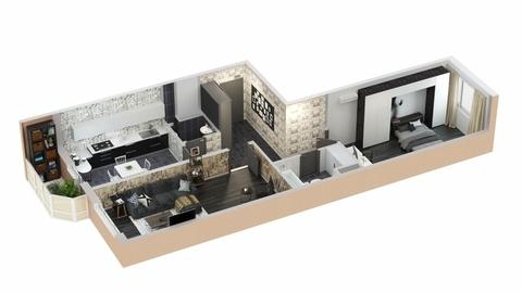 К продаже предлагается 2-х комнатная квартира повышенной комфортности. . - Фото 3