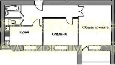Двухкомнатная Квартира Москва, улица Авиационная, д.59, СЗАО - . - Фото 2