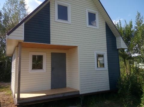 Продам участок с новым домом в СНТ Корабел, Балахнинский р-н - Фото 1