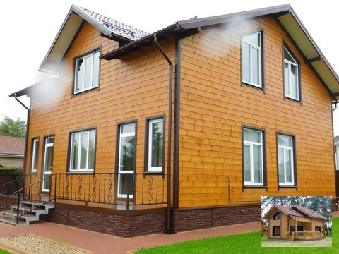 Дом ( дача , коттедж) Калужское ш, 75 км. от МКАД, д. Спас-Прогнанье - Фото 2