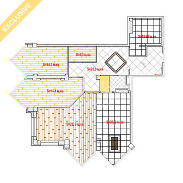 Продается 3-х комнатная квартира Шевченко 18 124м2 12 400 000 млн - Фото 2