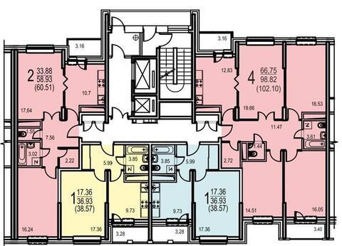 Продается квартира, Москва, 39м2 - Фото 1