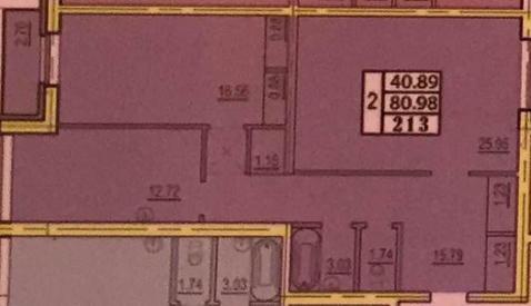 2-х к. кв. 81 м2 в доме бизнес-класса в г.Пушкин - Фото 4