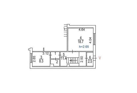 Помещение свободного назначения, Марьино, 44 кв.м, класс вне . - Фото 2